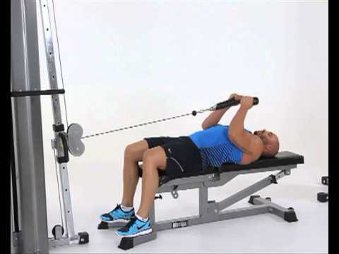 Standing Cable Rope Hammer Curl